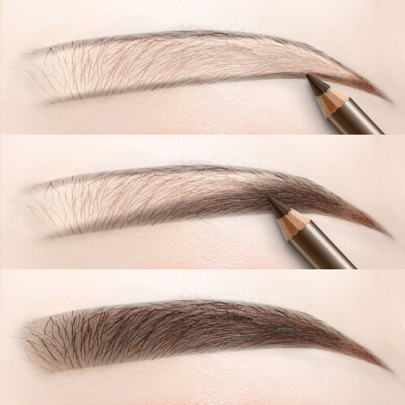 Kazilan eyebrow pencil is waterproof and sweat proof, lasting and colorless. Li Jiaqi recommends cutting type female genuine eyebrow powder for beginners