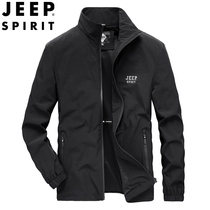 JEEP Jeep 2020 spring autumn new jacket mens business casual spring jacket Jacket large size mens