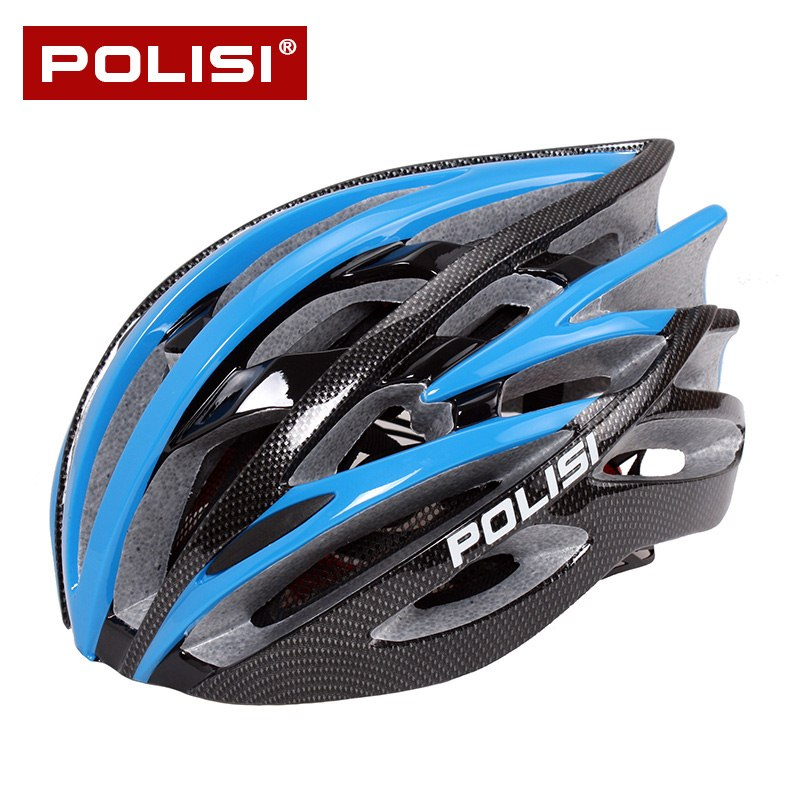 POLISI professional cycling helmet female bicycle helmet male one lightweight large size helmet riding equipment