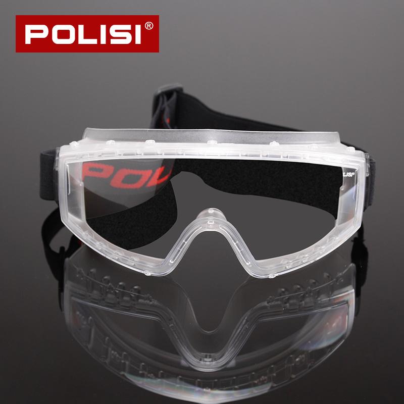 06f1ddad41 POLISI goggles anti-sand sand anti-shock anti-splash anti-fog protective