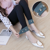 Maternity leggings spring cotton outer wear pants summer thin summer fashion spring tide mom spring and autumn pants