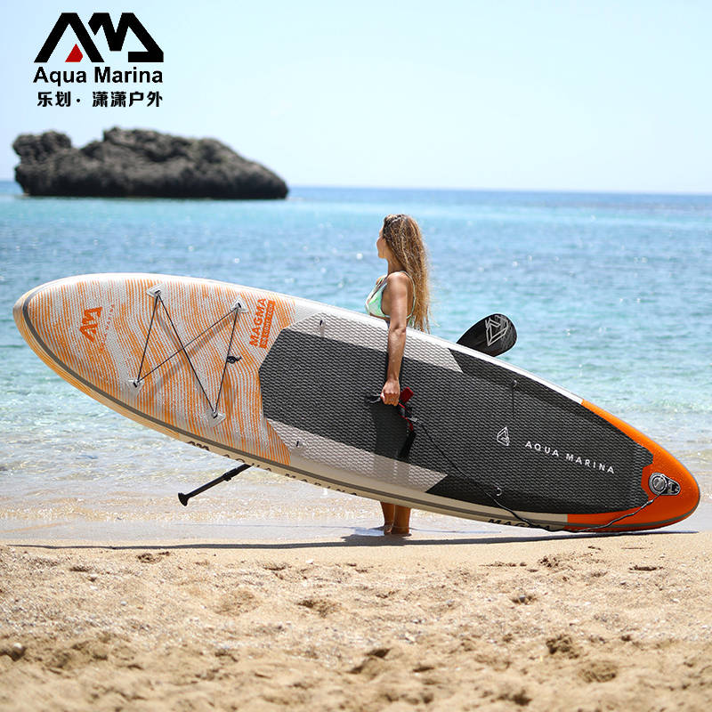 AQUAMARINA le rowing flare paddle board super pulp board professional inflatable surfboard adult waterboarding board
