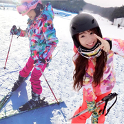 Gsou Snow single board skiing suit female Han Xiang Guoxue warm and windproof waterproof ski clothes