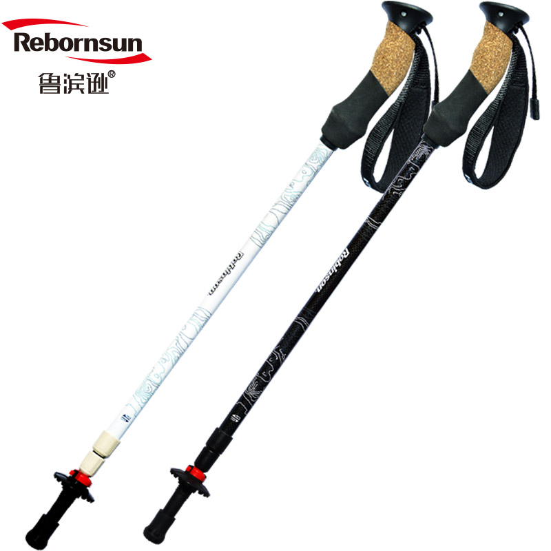 Robinson Climbing Cane Crossing Cloud Ultra Light Carbon Cane Outdoor Equipment Three Crutches Hiking Equipment