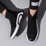 UGA socks shoes high board shoes in autumn and winter with the trend of Korean sports shoes casual shoes warm cashmere