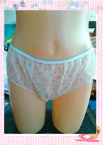 Manufacturers direct sale disposable underwear ladies pure cotton crotch travel 0.8 yuan per strip