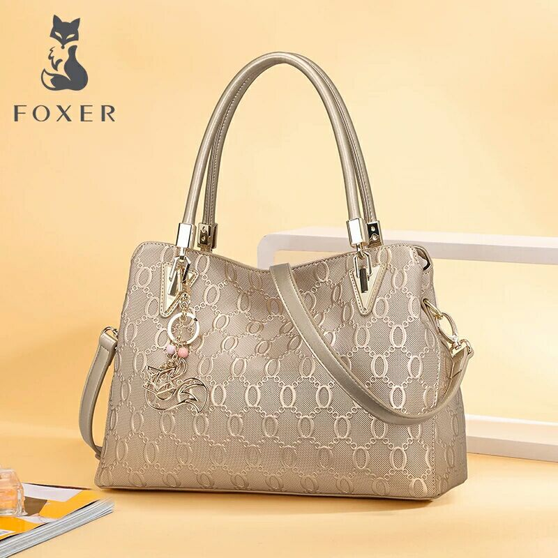 Golden Fox Single Shoulder Girl Bag Large Bag Slanting Large Capacity Girl Bag New Fashion Leather Atmospheric Handbag in 2019