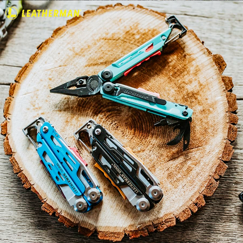 Leatherman U.S. Lyzemann SIGNAL fire multi-function tool pliers outdoors to live with multi-use folding pliers