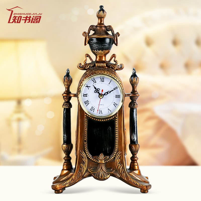 European retro clocks, home study decorations, housewarming gifts, moving gifts