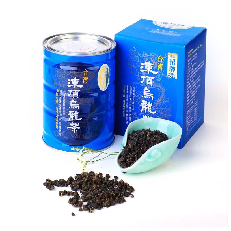 Xin Ji Taiwan specialty original frozen top Oolong tea sign fire imported mountain tea