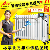 Antair Heating Water and Electricity Heating Sheet Household Intelligent Heating Water and Electricity Heater Water Injection Heater Temperature Control, Energy Saving and Power Saving