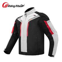 Motorcycle riding suit Summer suit Mens four seasons waterproof racing suit Drop-proof rally heavy motorcycle suit Knight suit