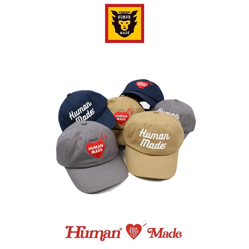 (5% от спотового) HUMAN MADE 20SS любовь вышитые буквы пары бейсболки изогнутые утиные шапки прилива