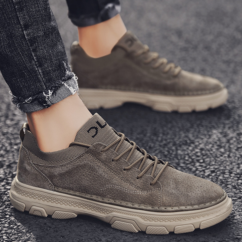 Men's shoes 2019 new shoes men's fashion shoes casual shoes low top Martin boots winter tooling 2020 spring