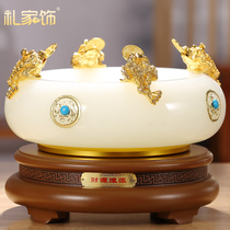 Богатство рог изобилия украшения фэн-шуй компас стекло ремесла подарки главная гостиная винный шкаф украшения