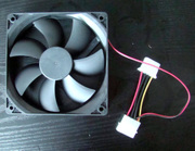 The new chassis fan 12cm mute long life power case fan fan shot