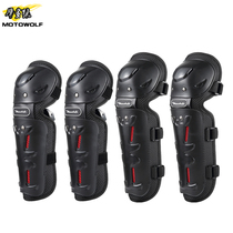 Summer riding locomotive knee protection elbow four-piece set of knights equipped with off-road protective gear four seasons wind protection against falling legs