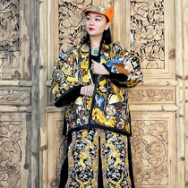 Silent embroidery · Chinese hand embroidery ethnic style Miao embroidery totem coat with Chinese style fashion coat coat