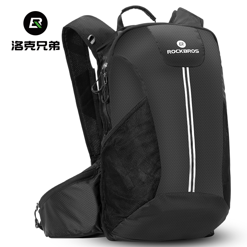 Rock brothers bicycle shoulder bag cycling backpack water bag bag outdoor sports men and women anti-splash climbing equipment