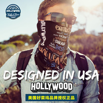 Hollywood Ice Riding Mask Scarf Men Summer Slim Neck Protector Magic Scarf Neck Sunscreen Neck Scarf