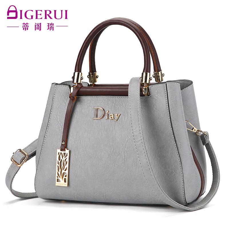 Women's Bag 2019 New Advanced Sense Bag Popular Handbag Fashion Single Shoulder Bag Mom Bag Baituan Slant Bag