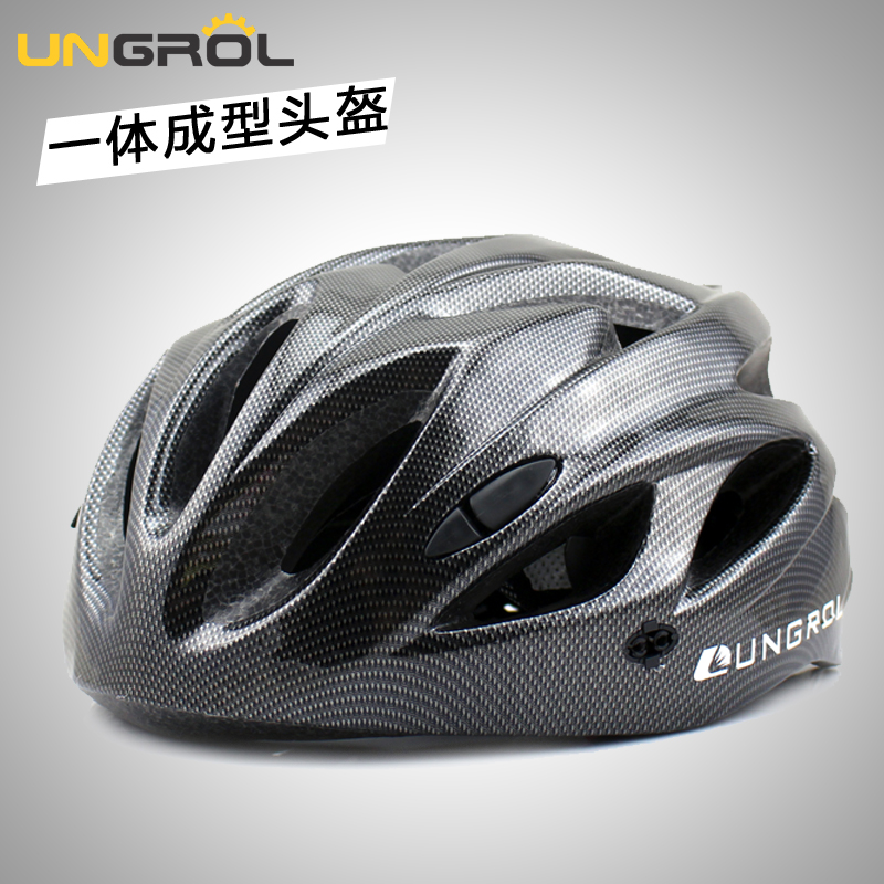 UNGROL integrated bicycle riding helmet for men and women mountainous bicycle safety helmet road bicycle riding equipment