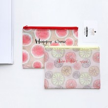 Three-year Class B Small Fresh Fruit File Bag Stationery Pencil Bag Information Paper Inclusion Folder Inclusion Bag Q