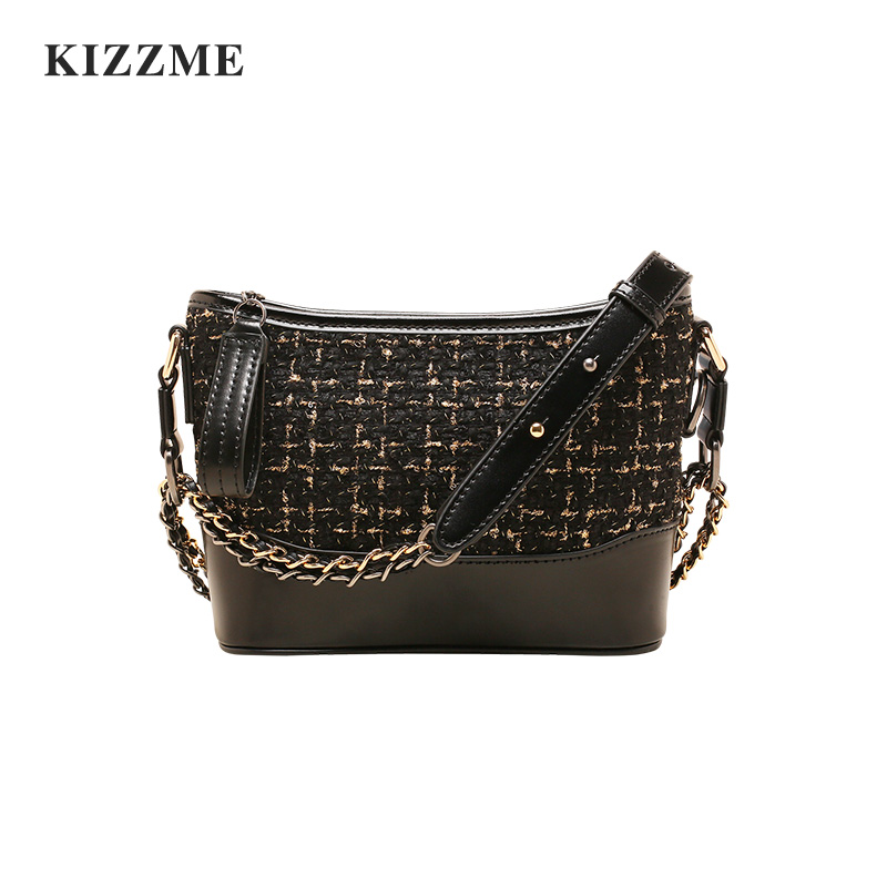 KIZZME Chain Bag Women's New Wandering Bag