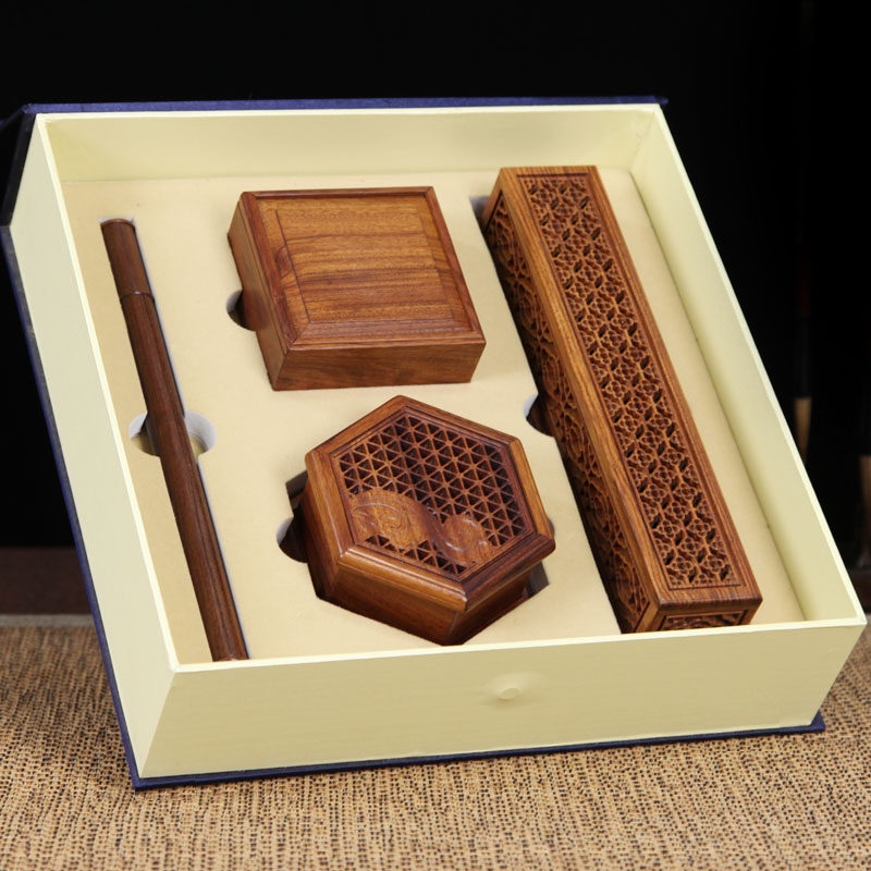Rosewood incense box, incense box, incense box, incense box, incense stove gift box