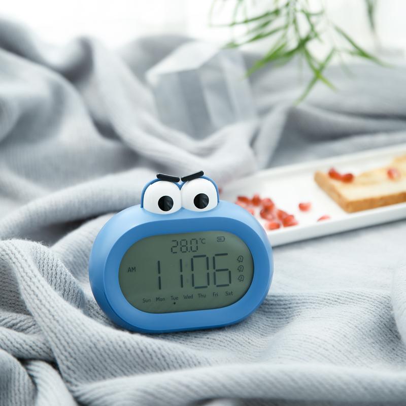Les étudiants intelligents de petit réveil emploient le réveil silencieux de chevet des enfants d'alarme électronique d'alarme pour se lever