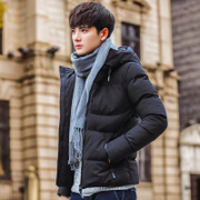 Cotton men's coats in winter 2017 new Korean Winter Youth handsome men clothes thick cotton padded jacket