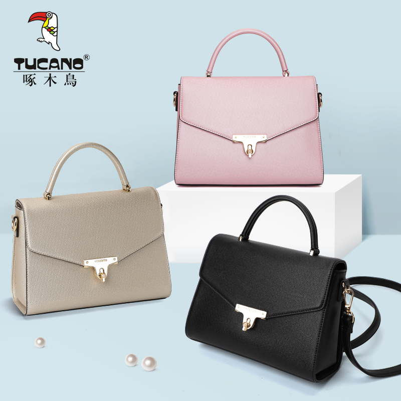Woodpecker bag female fashion lady bag female 2018 new summer tide take a single shoulder diagonal bag handbag female tide