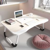 牀 a small table lazy easy bedroom sitting stacked computer table dormitory students learn to write home desk