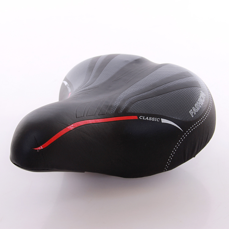 [The goods stop production and no stock]Ordinary bicycle saddle bike comfortable padded saddle seat 26 inch 24 inch 22 inch 20 inch carrier