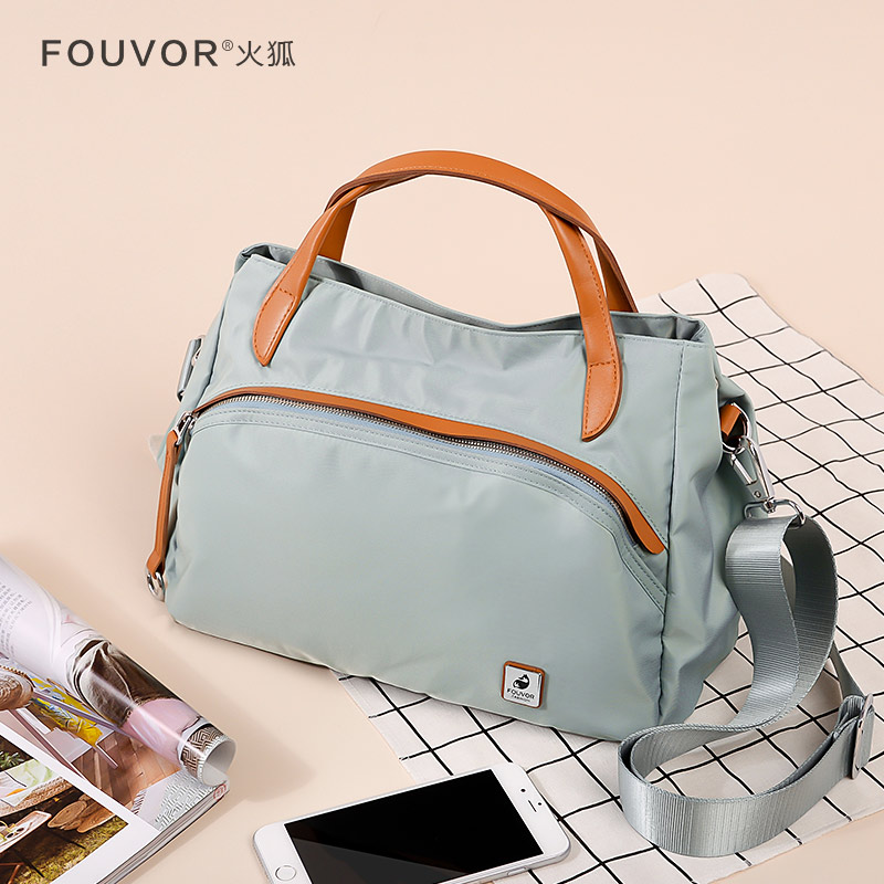 Handbag Fashion Lady's Bag 2019 New Canvas Bag Oxford Women's Bag Summer Single Shoulder Slant Bag
