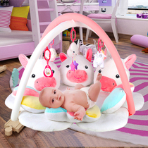Baby Fitness Frame 0-1 Years Old Baby Foot Piano Neonatal Intelligence Toy Gift 3-6-12 Months