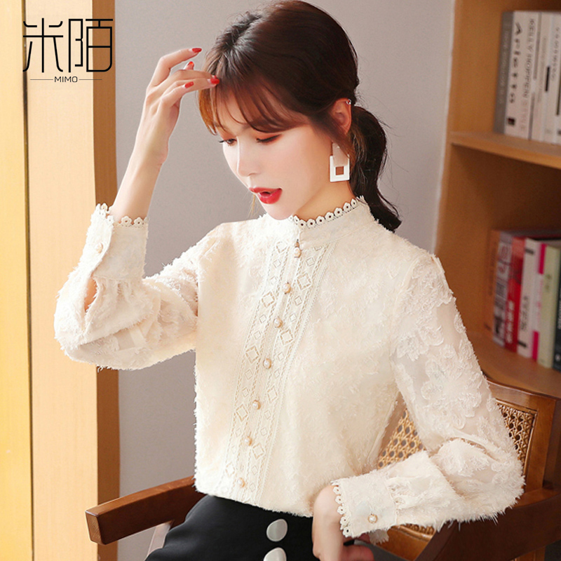 Lace bottoms for womens autumn winter 2020 fashion chiffon on the dress with a matching pai of velvet thick