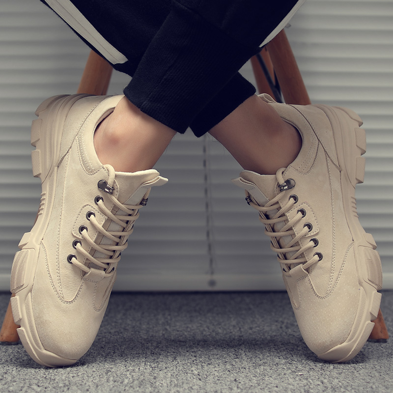 Men's shoes spring 2020 new daddy sports shoes men's casual shoes shoes shoes Korean board shoes and Martin boots
