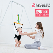 Childrens 鞦韆 feel unified early teaching toy baby bounce fitness rack bounce chair baby jump chair