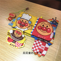 Bread Anpanman Big cloth book paper bell Three-dimensional tear not rotten cloth book Baby multi-function album can be washed car hanging