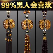 Car pendant jewelry Pixiu Pingan atmosphere car pendant Car rearview mirror car hanging car interior pendant man