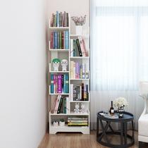 Простая Книжная полка напольная детская полка для гостиной для студентов домашний минималистский компактный экономичный книжный шкаф