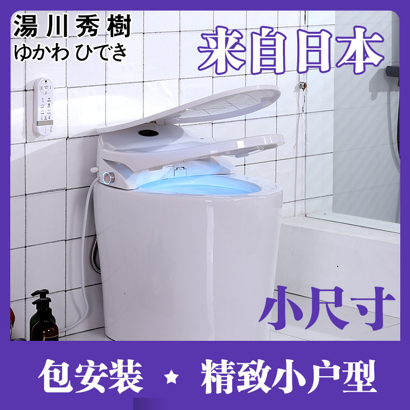 Small Size, Large Seat Ring, Small Huxing, Small Electric Ultra-short Adult Intelligent Toilet 540MM Limit Saving Space