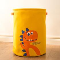 Childrens toys storage box basket box baby bag baby large-capacity dirty clothing basket artifact finishing fabric small