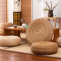 Futon coussin japonais-style tatami tapis tapis de méditation tapis de méditation maison plancher de paille ronde Assis piliers peut sasseoir sur le sol