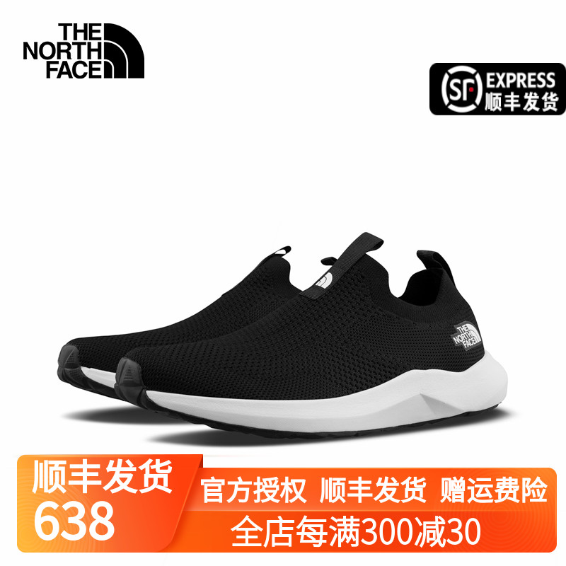 The NorthFace North Casual Shoes Mens Spring Summer 2021 New Outdoor Breathable Footshoe 4T44