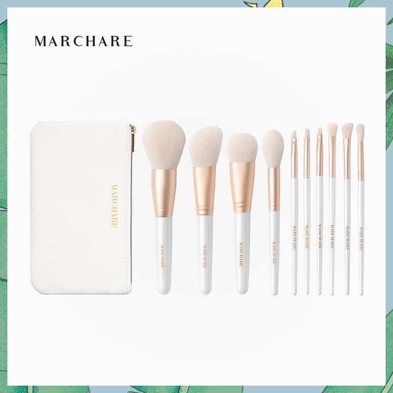 March rabbit /Marchare heart beating makeup brush set foundation blush powder powder brush brush makeup brush