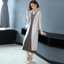 Wool Knitted Cardigan February and August Womens Sweater Jacket Early Spring and Autumn 2021 New Womens Loose Wear