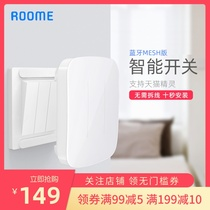 roome smart switch panel home free wiring wireless remote control switch lights Lynx Genie smart home