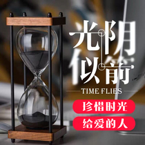 Time hourglass timer children 30 minutes time hourglass ornaments birthday Valentines day Christmas gifts